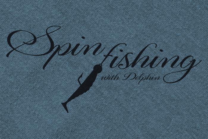 Tričko Delphin SPIN fishing