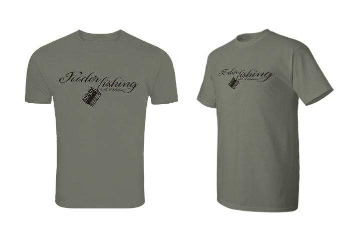 Tričko pro rybáře Delphin FEEDER fishing