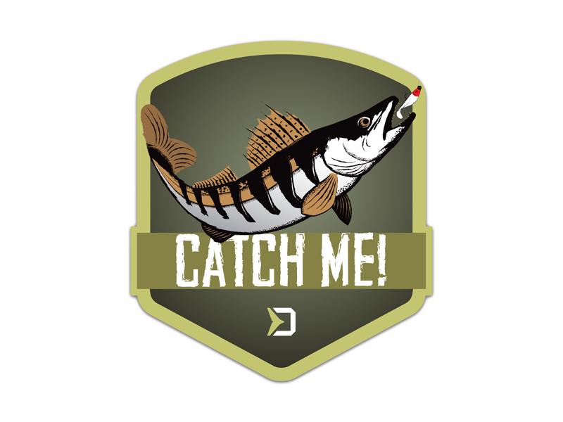 Nálepka Delphin CatchME! CANDÁT