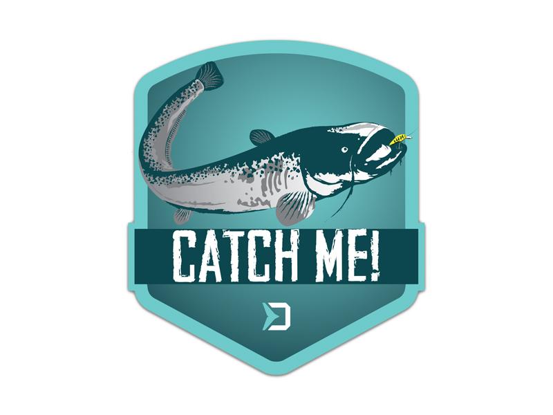 Nálepka Delphin CatchME! SUMEC