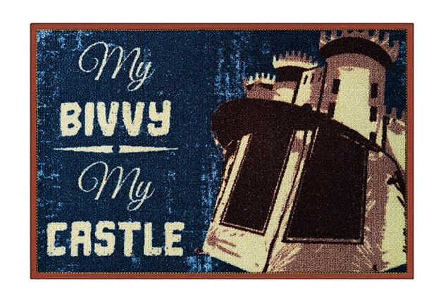 Rohož My bivvy my castle,60x40cm