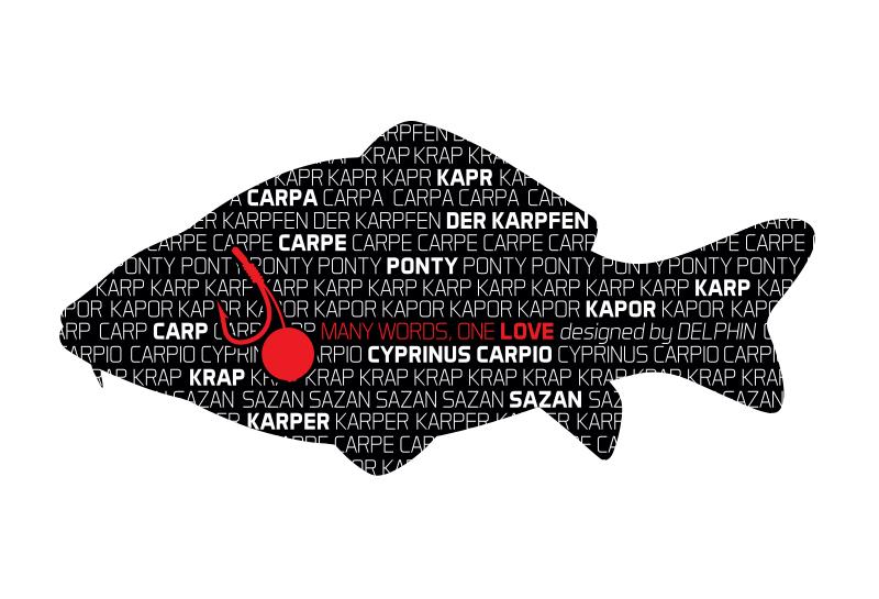 Nálepka KAPR série Words
