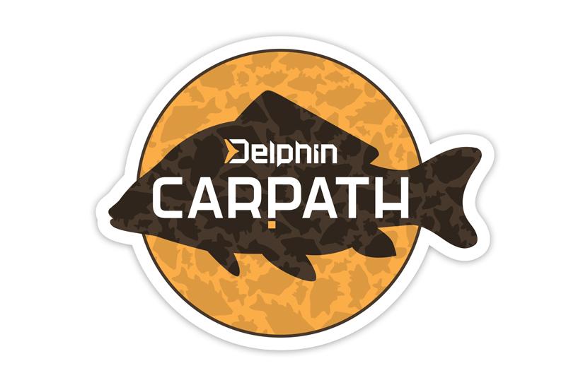 Samolepka Delphin CARPATH,95x75mm