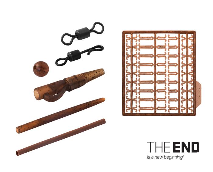 Set kaprárskych montáží THE END / 10 montážíG-ROUND