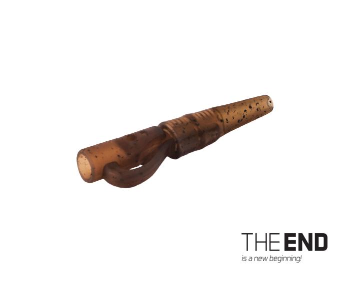 Závěsný PIN klip s gumičkou THE END / 10ks