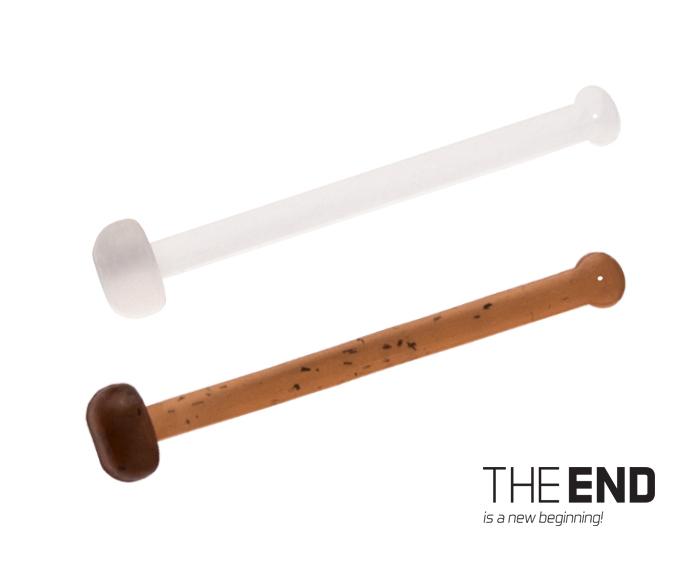 Elastická zarážka nástrahy THE END / 36ks18,21,25 mm mix