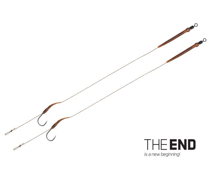 Nadväzec Delphin THE END Boilie rig / 2ks 20cm/25lbs/#2