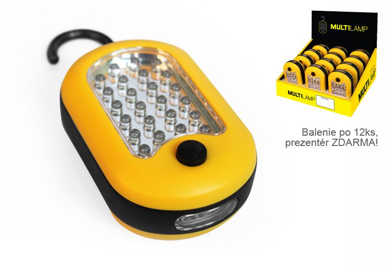 Svietidlo Delphin MULTILAMP24 + 3 LED