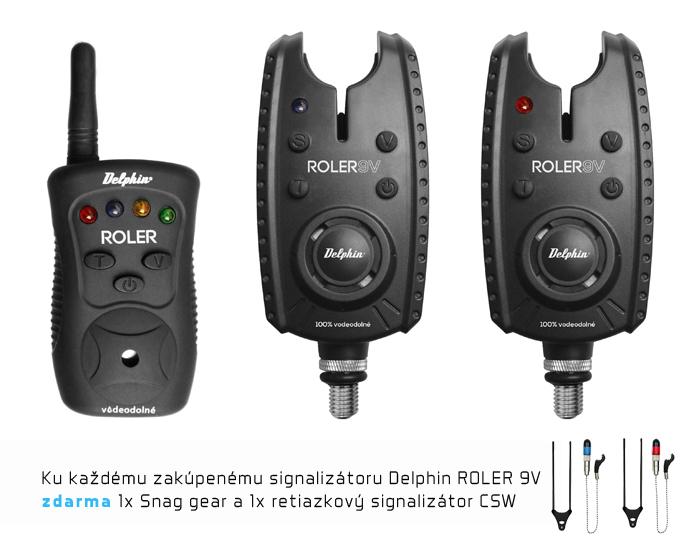 Signalizátor pro ROLER 9V +CSW2 +Snag Gear