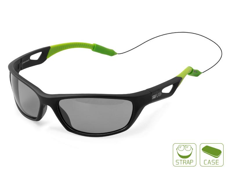 Polarizační brýle Delphin SG FLASH,sivé sklá