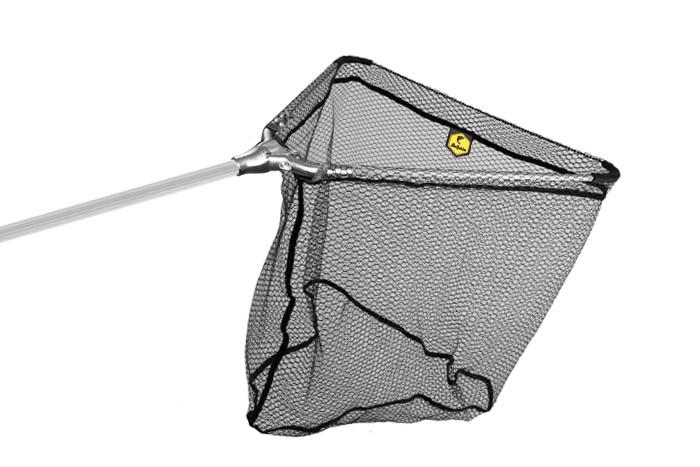 Podběrák Delphin kovový střed 60x60/200cm pogumovaná síťka